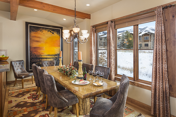 Steamboat Springs The Porches Heavenly Daze Dining Room