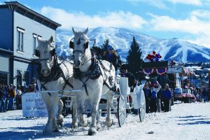 horses winter carnival