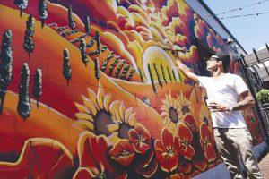Steamboat Mural