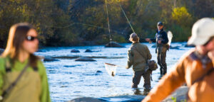 Steamboat fly fisher